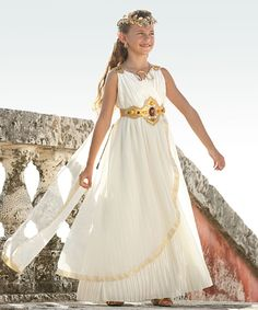 Love this Grecian Goddess Dress-Up Set - Girls by chasing fireflies on #zulily! #zulilyfinds