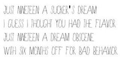 Placebo-Special Needs lyrics
