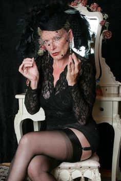 Grandmother-in-law gives better blow**** than her daughter