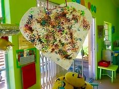 This is a stunning activity using wax crayon shavings and wax paper to make beautiful wax hearts. Valentines Art For Kids, Valentine Crafts, Fun Art, Cool Art, Art Crafts, Arts And Crafts, Outdoor Activities, Activities For Kids, Kids Obstacle Course