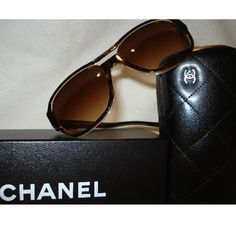 Tip: Chanel Sunglasses (Chocolate)