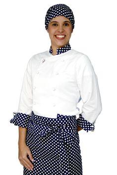 dolma feminina - Pesquisa Google Polka Dot Top, Jeans, Chef Jackets, Look, Ruffle Blouse, Stripes, Mens Fashion, Dresses, Women