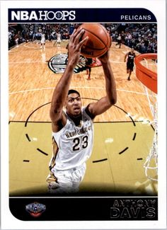 a0b9bdd2deb Amazon.com  2014 Hoops 259 Anthony Davis M (Mint)  Collectibles   Fine Art.  Basketball CardsNba ...