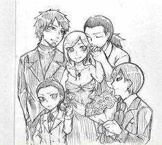 Temari with her bodyguards