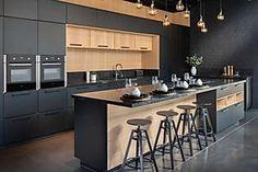 """הצצה ראשונה לסניף איקאה החדש והייחודי בת""""א Kitchen Pantry Design, Luxury Kitchen Design, Best Kitchen Designs, Interior Design Kitchen, Kitchen Vinyl, Kitchen Decor, Coffee Shop Interior Design, Kitchen Cabinet Remodel, Elegant Kitchens"""