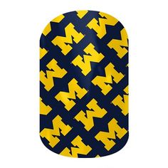 Now available!  Officially licensed U of M wraps from Jamberry!  Shop now and GO BLUE! jamwithchel.jamberrynails.net