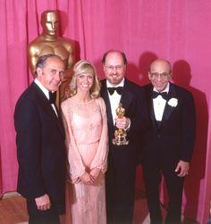 Academy Awards John Williams Best Original Score Henri Mancini and Olivia Newton John presenters