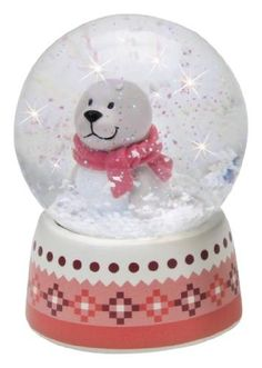 Seal Snowglobe 2.5 Inch by International Playthings