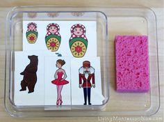 Montessori-Inspired Little Passports Activities - Russia