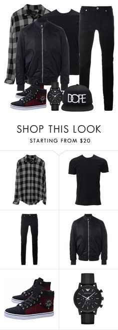 """""""Swag Outfit (Boy)"""" by madihahnas ❤ liked on Polyvore featuring Diesel Black Gold, PS Paul Smith, Emporio Armani, Forever 21, men's fashion and menswear"""