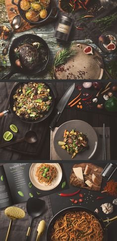 Kitchen Ready Mockup Creator by Mockup Cloud on @creativemarket