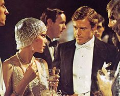 Great Gatsby is one of THE most stylish films of my time - bring the Roaring 20's back.