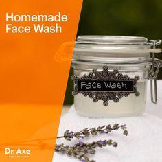 Homemade Face Wash - Dr.Axe