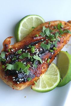 honey chipotle glazed chicken