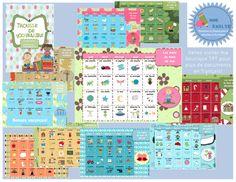 Ce document contient 10 calendriers d'étude de mots de vocabulaire selon les thèmes abordés durant l'année scolaire: l'école, l'automne, l'Halloween, le corps humain, Noël, l'hiver, l'amitié, les moyens de transports, l'alimentation, les animaux, les insectes, l'espace et les vacances.