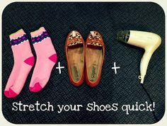 How to Stretch Too-Tight Shoes in Less than 4 minutes!