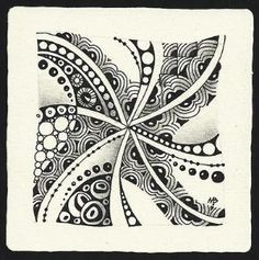 Zentangle by Margaret Bremner, Certified Zentangle Teacher by colette