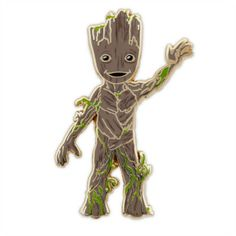 Bring loveable Groot your collection with our limited edition Guardians of the Galaxy pin! Featuring an endearing pose and friendly expression, the must-have pin is finished with a hard enamel fill.