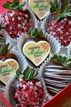 Moms love edible Mother's Day gifts because they're delicious and come from the heart! Here are a few chocolate treat ideas she is sure to love.