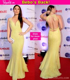 Ciroc Filmfare Glamour and Style Awards: Kareena Kapoor Khan is back on the red carpet and she is RULING it!