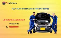 Full body car repair services Bangalore - Just send us your valuable car problems through message or pictures, or pick any of the service package. Get estimation code from our expert mechanics. http://www.fixmykars.com/