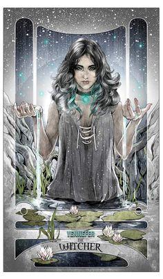 Йеннифер,Witcher Персонажи,The Witcher,Ведьмак, Witcher, ,фэндомы