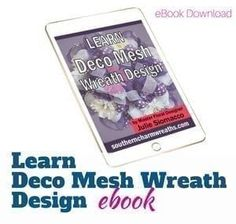 How to Add Ribbon Streamers to Deco Mesh Wreaths. Ribbon adds a lot of texture, color and interest to a deco mesh wreath. In this quick video, learn how Christmas Mesh Wreaths, Diy Fall Wreath, Wreath Crafts, Deco Mesh Wreaths, Wreath Ideas, Burlap Wreaths, Christmas Bows, Christmas Stuff, Fall Lanterns