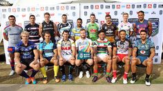 16 captains NRL 9's Copyright NRL Photos.