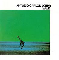 ANTONIO CARLOS JOBIM: Wave (1967), classic album and cover art. I think this is where the genres of Bossa Nova, latin jazz and Muzak start to get confused. If anything the glut of bad copycat Bossa Nova albums that flooded America in the 60's confused the real sound with the bad.