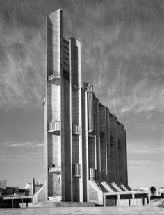 Église Notre-Dame de Royan, designed by Guillaume Gillet, 1955-1958
