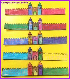 Couronne château fort Medieval, Fairy Tales For Kids, Kings Day, Château Fort, Kids Dress Up, Work Activities, School Themes, Old Art, Projects For Kids