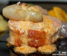 Receta de Solomillo con salsa de coco y curry rojo