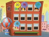 Hard hats on! Kids practice identifying numbers 11 to 20 in this demolition game.