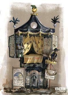 Jim Kay's Concept Art | Photo Galleries | Jonathan Strange & Mr Norrell | BBC America