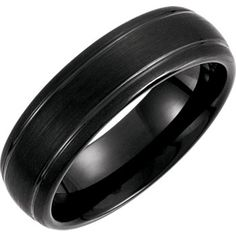 Ring Size 12 Security Jewelers Tungsten /& Rose PVD 4mm Ridged Band with Satin Center Size 12