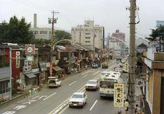 昭和51年 目黒通りの商店街