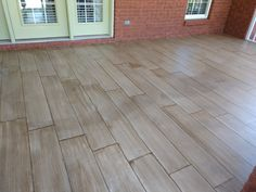 I am so happy on how my back porch concrete floor turned out. Since you are here, you must want to see how I mastered this look. Concrete Stain Colors, Painted Concrete Floors, Painting Concrete, Stained Concrete, Cement Floors, Floor Painting, Plywood Floors, Concrete Countertops, Paint Cement
