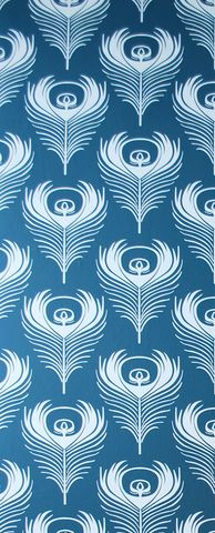 (graphics, print, design, pattern, patterns, feather, feathers, art deco, blue, white)