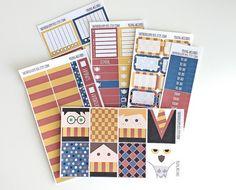 Young Wizards FULL Kit Planner Stickers for Erin Condren Vertical | To Do | Bullet Journal | Filofax | Harry Potter Inspired | Hogwarts