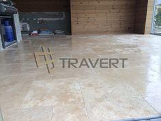 Letná kuchyňa z prírodného kameňa travertín | Travert s.r.o. http://travert.sk/referencia/letna-kuchyna-z-prirodneho-kamena-travertin