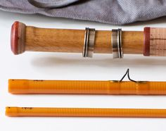 Wojnicki, Mario -- 8'2 3 piece 5wt fiberglass rod - Vintage Fly Tackle