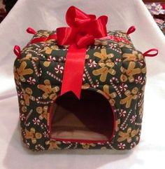 A present for piggies to leave their presents in (aka poops)