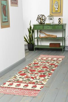 Magical Thinking Palace Floral Runner