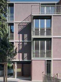 Loeliger Strub - Mehrfamilienhaus Winkelriedstrasse, Zürich  2012