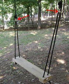 Must make: Rope Tree Swing Chain Links