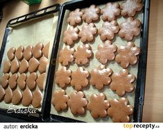Gingerbread Cookies, Christmas Cookies, Czech Recipes, Desert Recipes, Food And Drink, Snacks, Cake, Hampers, Elephant Plant