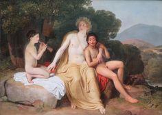 "Alexandre Ivanov - ""Apollon, Hyacinthe & Cyparisse"" (1834)."