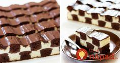 Csak 30 perc ez a sakktorta, amivel te leszel a konyha királynője! Sweet Recipes, Cake Recipes, Dessert Recipes, Toffee Bars, Waffle Cake, Tasty, Yummy Food, Fondant Figures, Sweet Tarts
