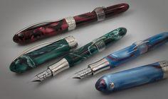 Goulet Pens Blog: Sneak Peek: Visconti Moonlight & Rainbow Limited Editions