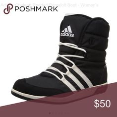 Waterproof boots Got these for a snowboarding/ski trip and never wore them Adidas Shoes Winter & Rain Boots